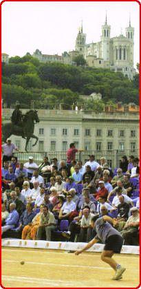 Boule lyonnaise : le traditionnel tounoi de Pentecote Bellecour